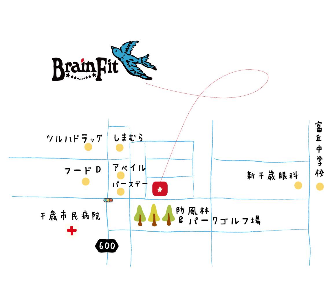 BrainFit地図